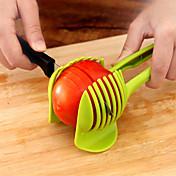 1 pièces Pomme de terre Tomate Citron pomme Orange Cutter & Slicer For Pour légumes Plastique Creative Kitchen Gadget Nouveautés