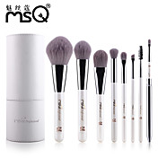 MSQ® 8pcs Makeup Brushes set Hypoallergenic/Limits bacteria Fiber White Blush brush Shadow/Brow/Lip/Eyeliner Brush Makeup Kit Cosmetic Brushes