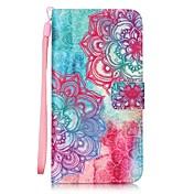용 LG케이스 카드 홀더 / 지갑 / 스탠드 / 플립 / 패턴 케이스 풀 바디 케이스 만다라 하드 인조 가죽 LG LG G5