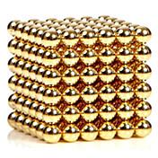 자석 장난감 216 조각 3MM Magnetic Balls Golden&Silver 2 Color Choose,Diameter 3 MM스트레스 완화 DIY 키트 자석 장난감 조립식 블럭 3D퍼즐 마술 소품 교육용 장난감 과학&디스커버리 완구