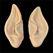 PVC 요정 픽시 가짜 요정 귀는 할로윈 새로운 당이 부드러운 지적 인공 귀 무서운 할로윈 장식 마스크 마스크