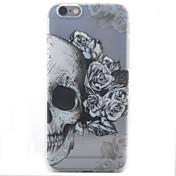 Para iPhone X iPhone 8 iPhone 6 iPhone 6 Plus Carcasa Funda Diseños Cubierta Trasera Funda Cráneos Suave TPU para Apple iPhone X iPhone 8