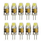3 G4 LED Bi-pin 조명 T 1 고성능 LED 260 lm 따뜻한 화이트 / 차가운 화이트 장식 AC 12 V 10개