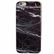 용 아이폰7케이스 / 아이폰6케이스 / 아이폰5케이스 패턴 케이스 뒷면 커버 케이스 마블 소프트 TPU Apple 아이폰 7 플러스 / 아이폰 (7) / iPhone 6s Plus/6 Plus / iPhone 6s/6 / iPhone SE/5s/5