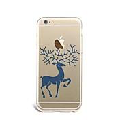 제품 케이스 커버 울트라 씬 패턴 뒷면 커버 케이스 크리스마스 소프트 TPU 용 Apple 아이폰 7 플러스 아이폰 (7) iPhone 6s Plus iPhone 6 Plus iPhone 6s 아이폰 6 iPhone SE/5s iPhone 5