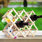Estantes de Vino Madera,44*43*31CM Vino Accesorios