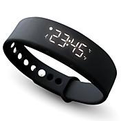 여성용 스포츠 시계 스마트 시계 패션 시계 손목 시계 팔찌 시계 LED 크로노그래프 GPS 시계 만보기 피트니스 트렉커 스톱워치 실리콘 밴드 뱅글 캐쥬얼 블랙 블루 레드 오렌지 그린 그레이