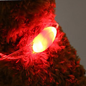 칼라 LED 조명 포함 배터리 노벨티 플라스틱 레드 그린 블루 핑크