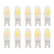 3W G9 LED Bi-pin 조명 G95 COB 230-250 lm 따뜻한 화이트 / 차가운 화이트 방수 V 10개
