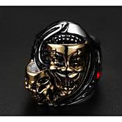남성용 새해 맞이 보석류 펑크 스타일 유럽의 티타늄 스틸 Skull shape 보석류 제품 결혼식 파티 일상 캐쥬얼 스포츠