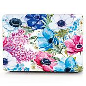 맥북 air11 / 13 pro13에 대한 수채화 꽃 맥북 컴퓨터 케이스 / retina13 / 15 macbook12와 프로 (15)
