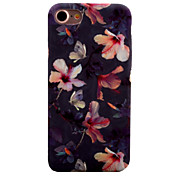 Para iPhone 8 iPhone 8 Plus iPhone 7 iPhone 7 Plus iPhone 6 Carcasa Funda Diseños Cubierta Trasera Funda Flor Dura Policarbonato para