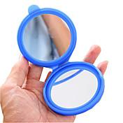 실리콘 케이스 작은 화장 거울