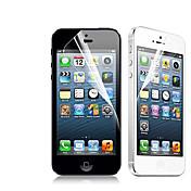 [2 팩] 아이폰 5/5S를위한 프리미엄 높은 정의 명확한 스크린 프로텍터