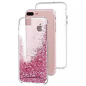 For Apple iPhone 7 7Plus 6S 6Plus Case Cover The New Transparent PC Backpack TPU Soft Edge Package All Flashing Sand Mobile Phone Case