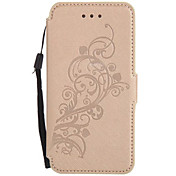 For Samsung Galaxy A5 (2017)A3(2017) Card Holder with Stand Flip Case Full Body Case Flower Hard PU Leather for A510  A310