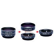 apexel 5 en el kit de lente de la cámara hd 1 198fisheye lens0.63x amplia angle15x lens2x teleobjetivo lente macro para iPhone lenscpl 7 6