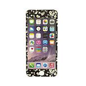 부드러운 가장자리 전체 화면 범위 전면 화면 보호기 꽃 패턴 애플 아이폰 7 플러스 5.5 인치 강화 유리에 대한