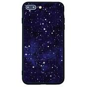 Para Diseños Funda Cubierta Trasera Funda Azulejos Dura Acrílico para Apple iPhone 7 Plus iPhone 7 iPhone 6s Plus iPhone 6s iPhone SE/5s