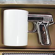 노블티 드링크웨어, 300 ml BPA 무료 세라믹 직물 누드 우유 머그컵 여행용 머그