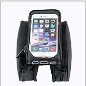 ROSWHEEL® 자전거 가방 OtherL자전거 프레임 백 빠른 드라이 충격방지 착용할 수 있는 싸이클 가방 Terylene 싸이클 백Samsung Galaxy S4 Samsung Galaxy S19 iphone 4/18S iPhone 5/5S