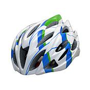 스포츠 남여 공용 자전거 헬멧 23 통풍구 싸이클링 사이클링 산악 사이클링 도로 사이클링 레크리에이션 사이클링 하이킹 클라이밍 PC EPS 옐로우 화이트 블랙 블루