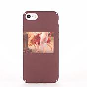 Para Diseños Funda Cubierta Trasera Funda Chica Sexy Dura Policarbonato para AppleiPhone 7 Plus iPhone 7 iPhone 6s Plus iPhone 6 Plus