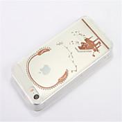 용 크리스탈 투명 DIY 케이스 뒷면 커버 케이스 카툰 소프트 TPU 용 Apple iPhone SE/5s iPhone 5