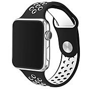 통기성이 좋은 실리콘 시계와 더블 컬러 스포츠 시계 42mm 팔찌 시계는 포함되어 있지 않습니다