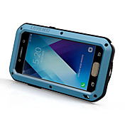 용 방수 충격방지 케이스 풀 바디 케이스 단색 하드 메탈 용 Samsung A5 (2017) A3 (2017)