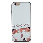 용 케이스 커버 패턴 뒷면 커버 케이스 고양이 소프트 TPU 용 Apple 아이폰 7 플러스 아이폰 (7) iPhone 6s Plus iPhone 6 Plus iPhone 6s 아이폰 6