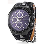 Hombre Adulto Reloj Deportivo Reloj de Moda Reloj de Pulsera Reloj Pulsera Reloj creativo único Chino Cuarzo Calendario Resistente al Agua