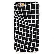 Caso para la manzana iphone7 7 más líneas ondas imd patrón suave tpu 6s más 6 más 6s 6