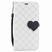 For Samsung Galaxy A3(2017) A5(2017) Case Cover Card Holder Wallet with Stand Flip Magnetic Case Heart PU Leather for Samsung A5(2016) A3(2016)