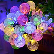 데코레이션 라이트 LED 밤 빛-0.5W-배터리 태양