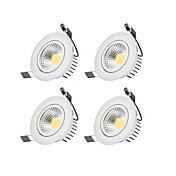 LED 스포트라이트 따뜻한 화이트 차가운 화이트 LED 전구 포함 4개