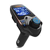 차 T11 V3.0 차량용 블루투스키트 자동차 핸즈프리 사운드 컨트롤 MP3 플레이어 LED 라이트 USB 포트