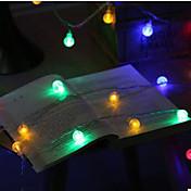 5W 스트링 조명 100 lm AC100-240 V 10 m 100 LED가 웜 화이트 RGB