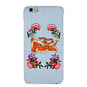 케이스 appleiphone 7 더하기 아이폰 7 커버 패턴 다시 커버 케이스 꽃 동물 하드 pc 아이폰 6s 플러스 / 6 플러스 / 6s / 6