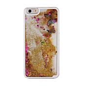 다시 투명 동적 액체 무덤 나비 브리 얀테 아이폰 6 플러스 / 6S 플러스 (모듬 색상)에 대한 케이스 커버
