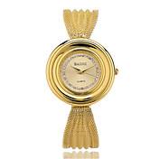 Mujer Reloj de Moda Cuarzo Aleación Banda Casual Dorado