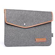 Paquete de forro de cuaderno bolsa de cuero de felpa de lana de 16 pulgadas