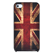 Vintage the Union Flag Pattern Hard Case for iPhone 4/4S