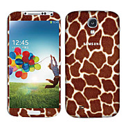 Brown Leopard Print Pattern Body Sticker for Samsung Galaxy S4 I9500