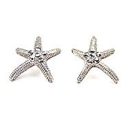 Vintage Starfish Stud Earrings