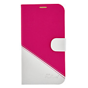 High-end Color Matching PU Leather Case with Stand for Samsung Galaxy Mega 6.3 I9200 (Assorted Colors)