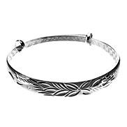 Four Leaf Flower 925 Silver Bracelet