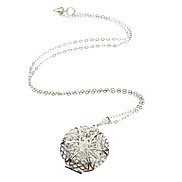 925 Silver Plated Pendant Necklace