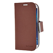 ILEADER PU Leather Case with Stand and Card Slot for Samsung Galaxy S4 I9500 (Assorted Colors)