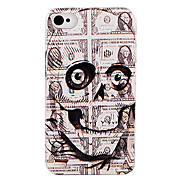 Originality Dollar Skull Back Case for iPhone 4/4S
